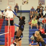 Simley Volleyball Downs Visitation in Straight Sets