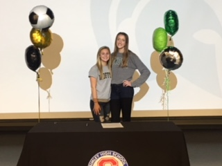 Simley Athletes sign National Letters of Intent…