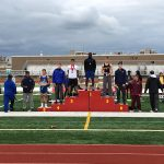 Hope Adebayo Wins Both Hurdle Races at Conference Championship Meet