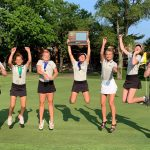 Girls Golf Section Champions!