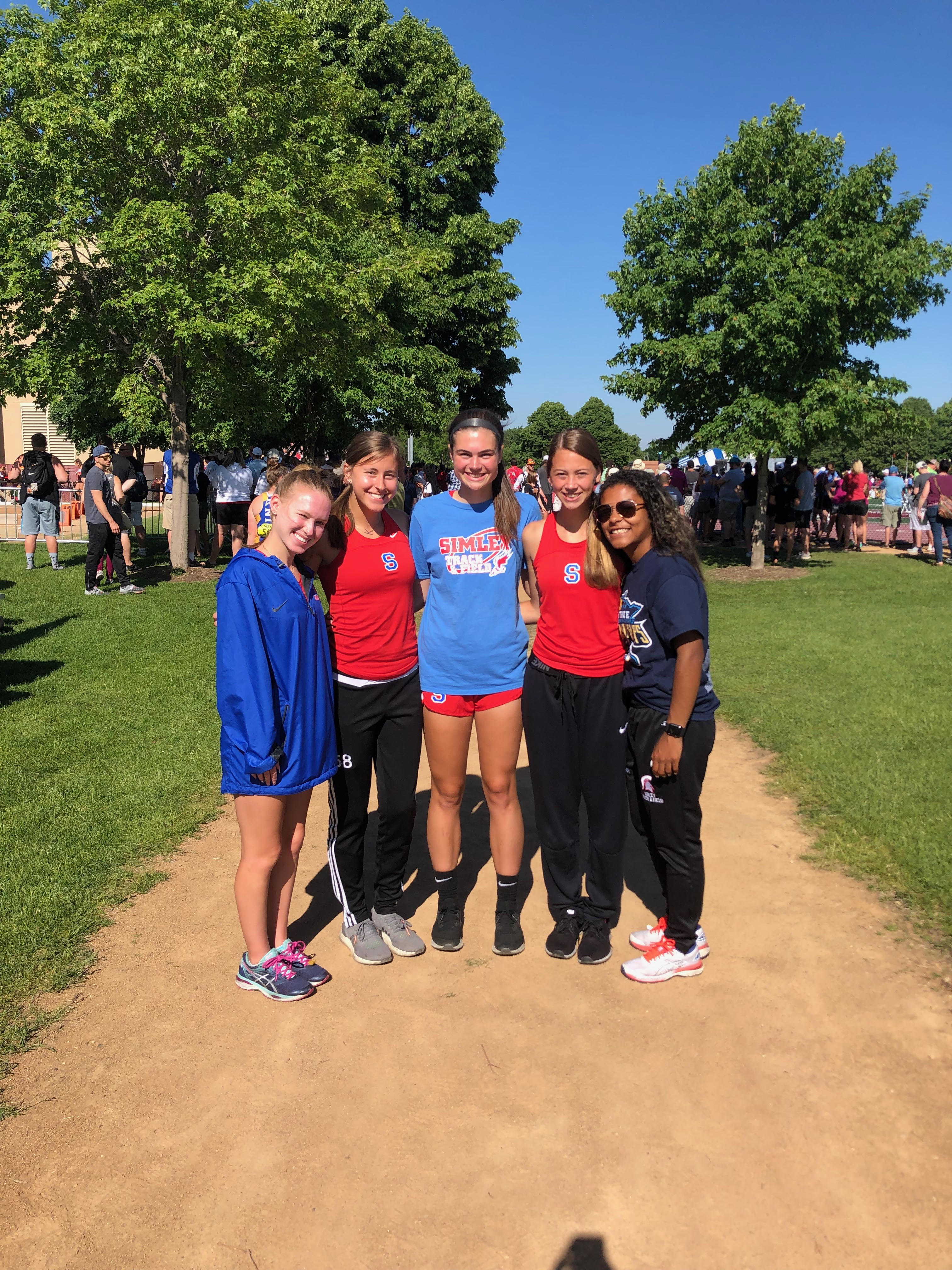 4 x 100 Meter Relay Takes 6th Place at State Meet
