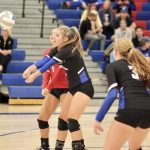 Simley Volleyball Dominates Match with Legacy Christian Academy