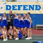 Girls JV Tennis Conference Champions!!
