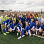 Girls Varsity Soccer beats North 4 – 0