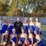 Girls varsity tennis defeats East Ridge in section semifinals