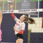 Simley Girls Volleyball Crashes Mahtomedi's Senior Night