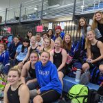 Simley Girls Swim at Sections 1A Prelims