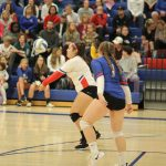 Simley Volleyball Rolls in Home Opener