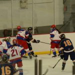 Simley Girls JV Hockey takes its first loss to Hastings: 1-2