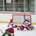 Simley Girls Varsity Hockey edged out by Orono 0-1