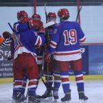 Boys Hockey Route Sibley Warriors 6-1