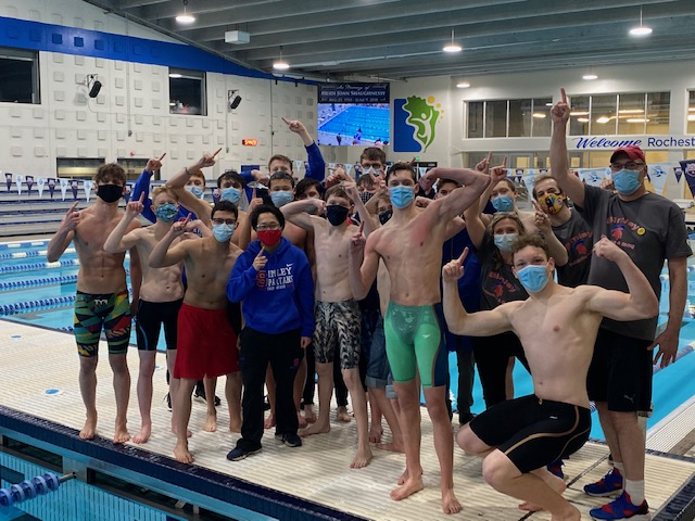 Simley Swim and Dive Section Champions