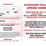 Speed Camp Starting in June