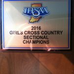 Lady Kougar Cross Country Wins 2016 Sectional Championship With Amazing Runs; Cavinder Individual Champion; Tokarz, Colon, Martin and Robinson All Earn Ribbons and Run Personal Records!