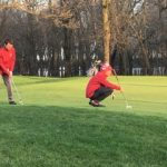 Kankakee Valley High School Boys Varsity Golf beat North Newton High School 181-220