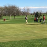 Kankakee Valley High School Boys Varsity Golf finishes 1st place