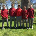 Kankakee Valley High School Boys Varsity Golf finishes 4th place