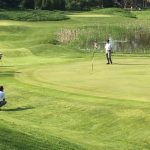 Kankakee Valley High School Boys Varsity Golf beat Lowell High School 174-195