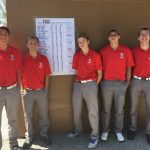 Kankakee Valley High School Boys Varsity Golf finishes 2nd place