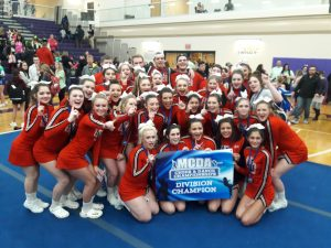 Photo of Kankakee Valley Cheer and lifters