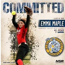 Maple signs with Marian University Knights!