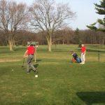 Boys Varsity Golf falls to Rensselaer Central 207 – 186