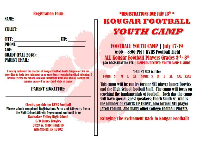 camp form