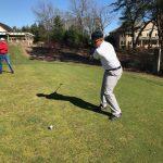 Boys Varsity Golf falls to Highland 194 – 205