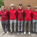 Boys Varsity Golf finishes 4th place at Ncc