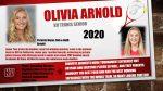 Senior Tennis Player -Olivia Arnold!