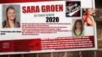Senior Sara Groen!