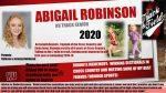 Senior Track – Abigail Robinson