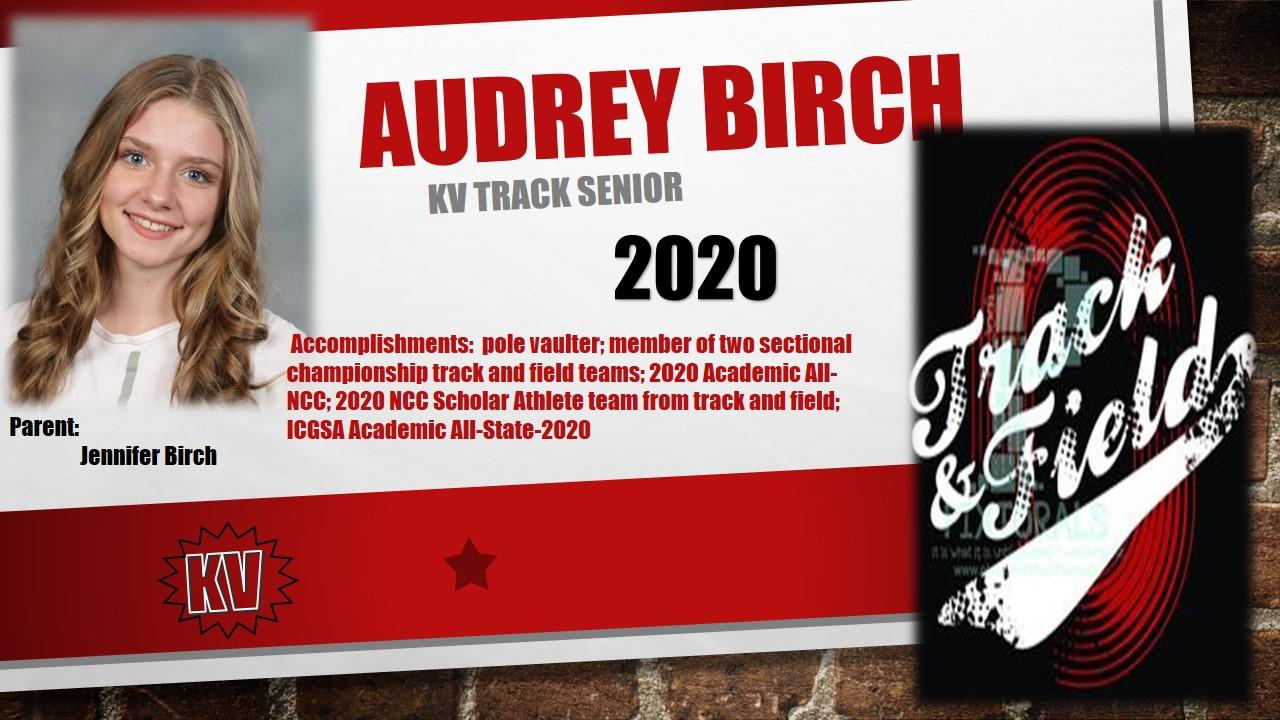 Track Senior- Audrey Birch