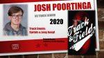 Track Senior- Joshua Poortinga