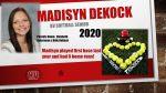 Softball Senior Madisyn DeKock