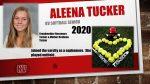 Senior Softball Aleena Tucker
