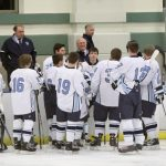 Hockey Splits Games over weekend