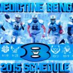 2015 Benedictine Football Schedule