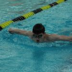 Swimming Places 4th at NCL Championships