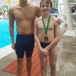 Swimming and Diving Perform Well at Elyria Catholic Pentathlon
