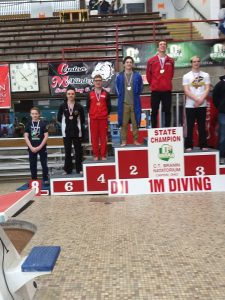 2018 State Diving Championship