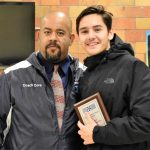 Coach Cora NCL Soccer Coach of the Year!