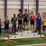 Charles Rosser Finishes Fifth in the State in the Indoor 40 Meter Hurdles!