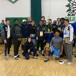 Bengals take 2nd Place at Columbia Invitational Wrestling Tournament.
