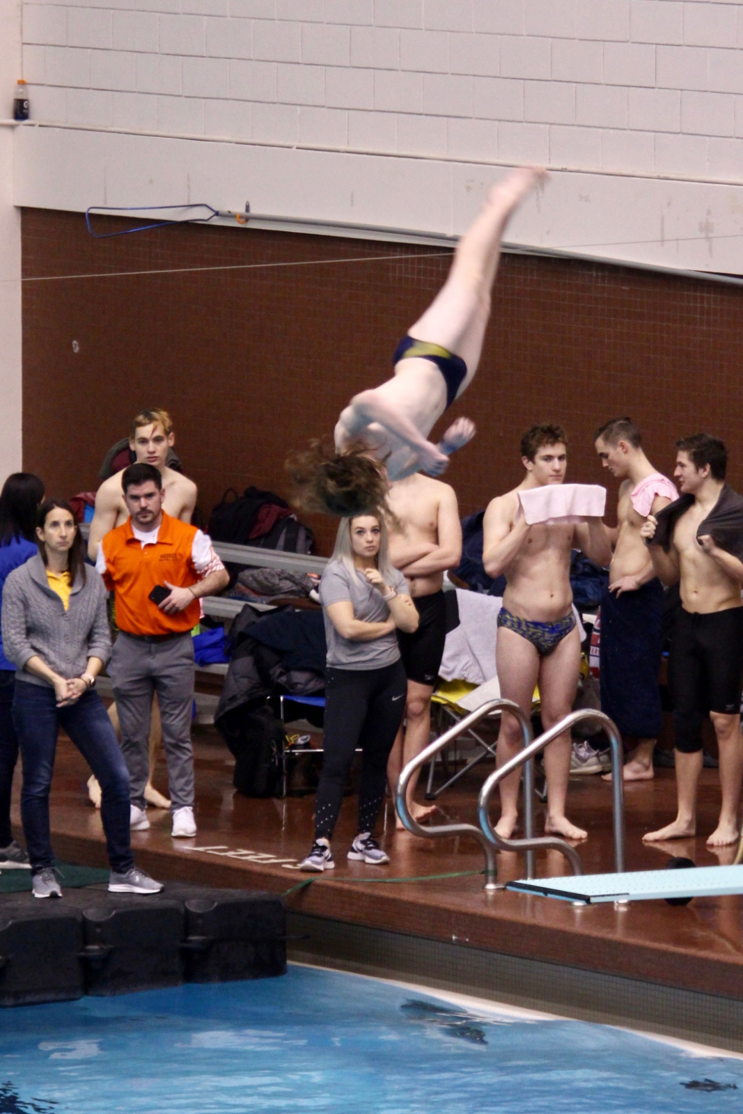 Luke Faulisi Qualifies for the State Diving Tournament!