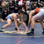 Wrestlers Battle Tough at Norwalk Districts!