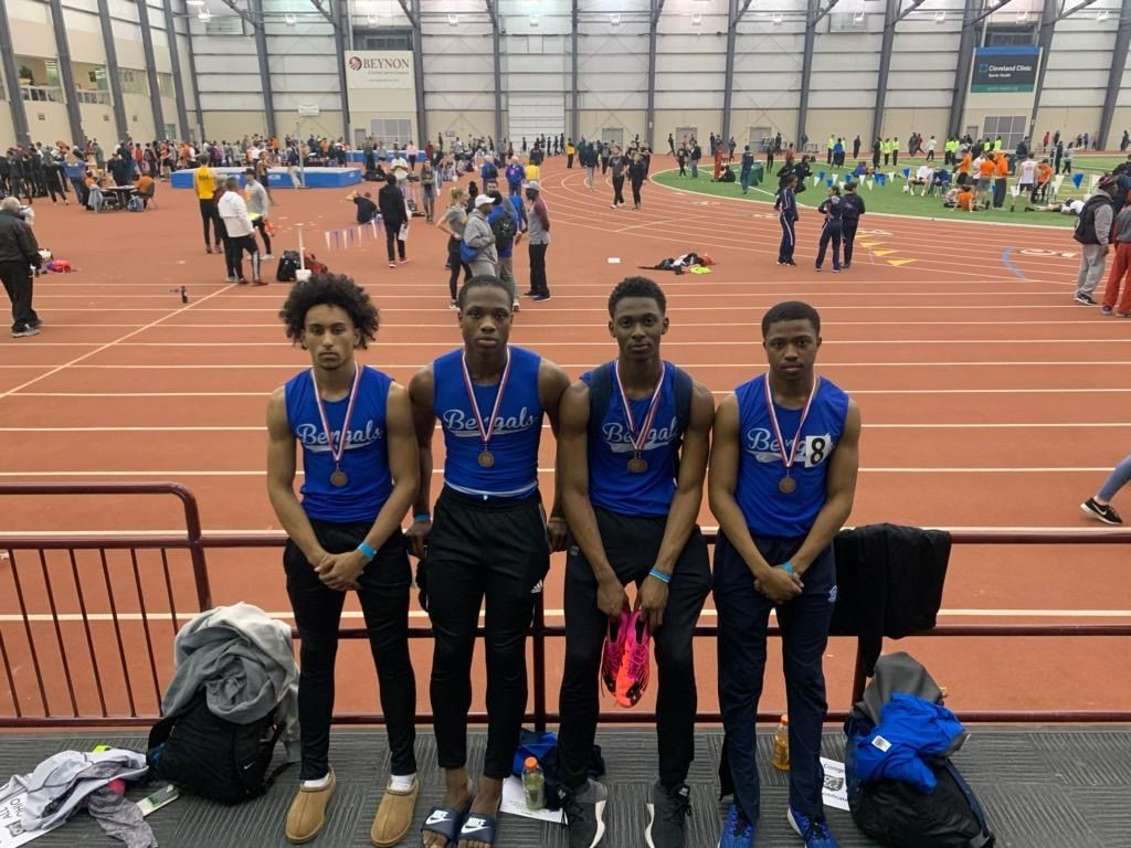Indoor Track Team Competes well at State Finals!
