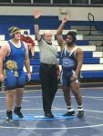Wrestlers Defeat NDCL on Senior Night