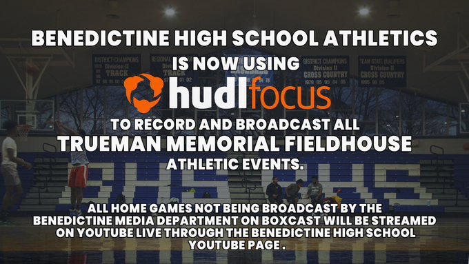 Hudl Focus to Broadcast Athletic Events in Trueman Memorial Fieldhouse