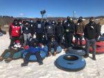 Football Program Goes Snow Tubing